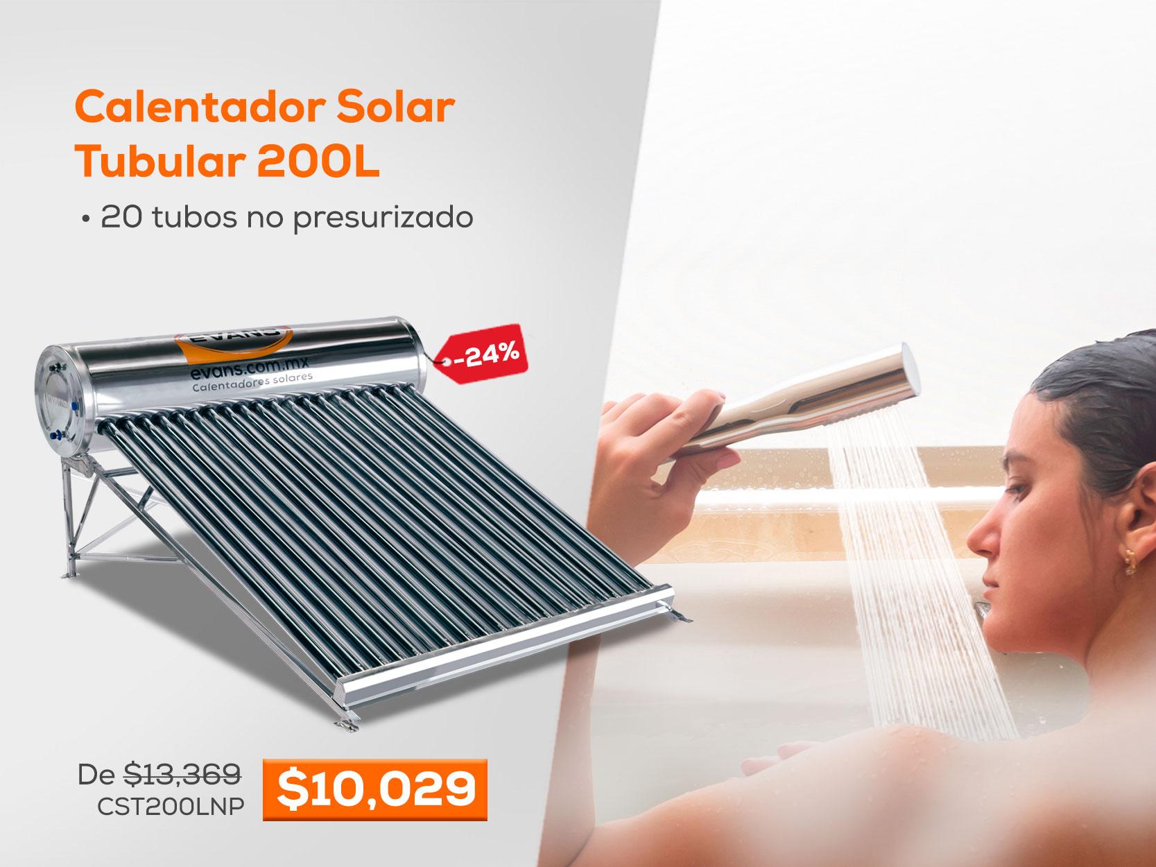Calentador Solar Tubular