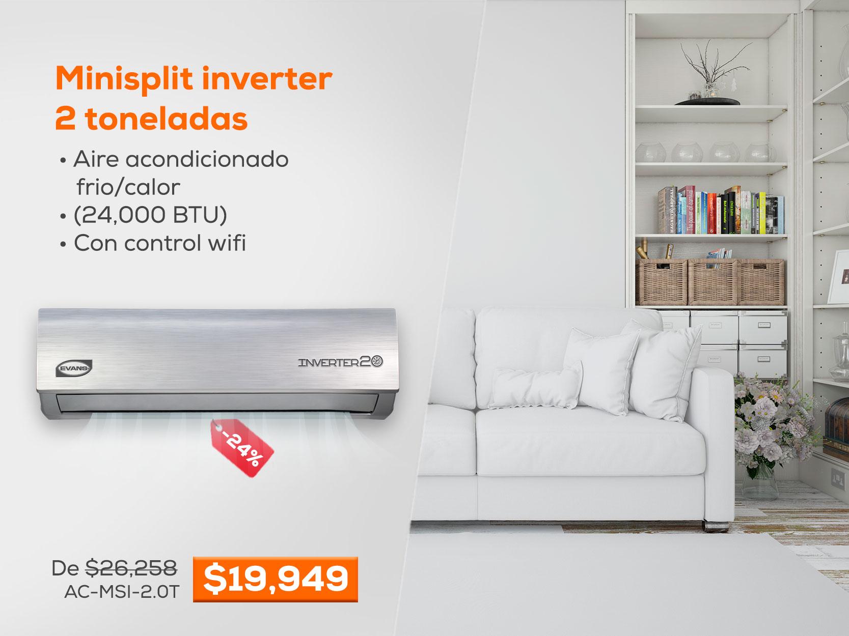 Minisplit Inverter EVANS